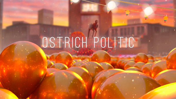 Ostrich Politic Short Film