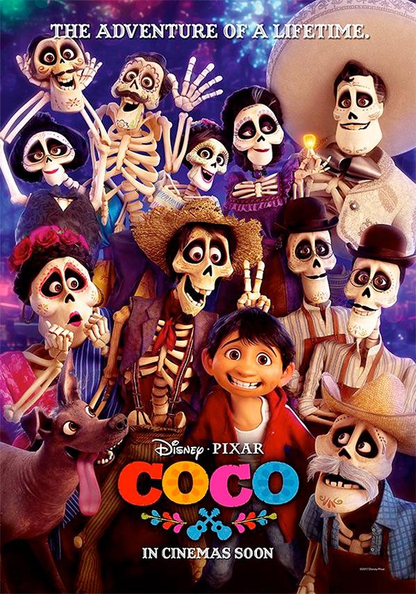Pixar's Coco Poster