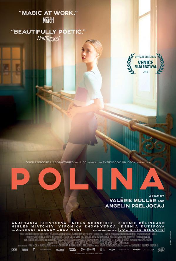 Polina Doc Poster