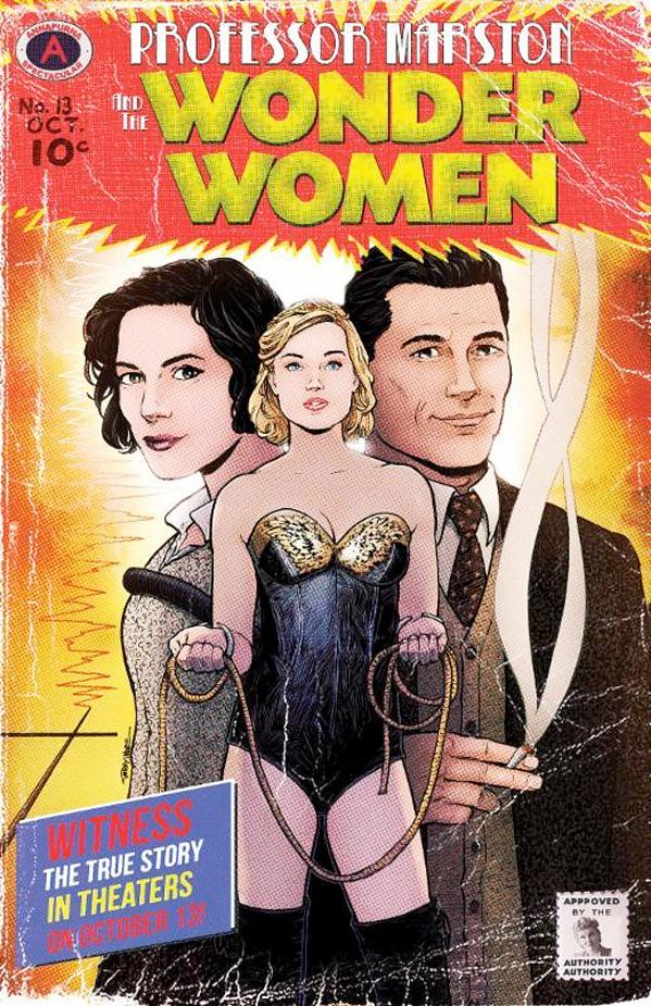 Professor Marston & the Wonder Women Poster
