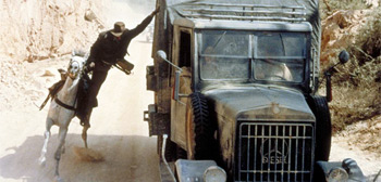 Desert Chase in Raiders of the Lost Ark