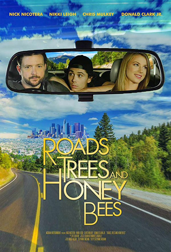 Roads, Trees and Honey Bees Poster