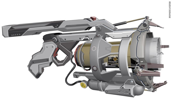 Robopocalypse Concept Art - Patrick Janicke