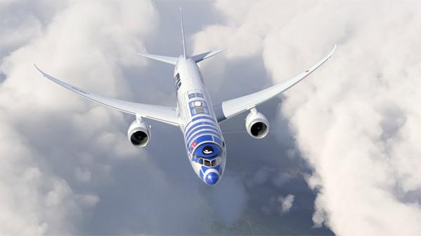 R2-D2 Airplane