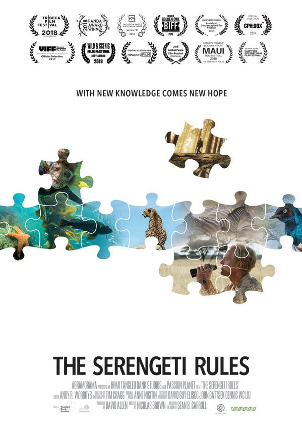 Serengeti Rules Poster