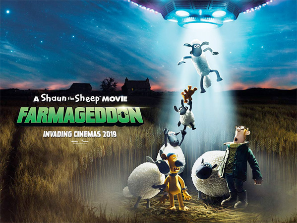 A Shaun the Sheep Movie: Farmageddon UK Poster