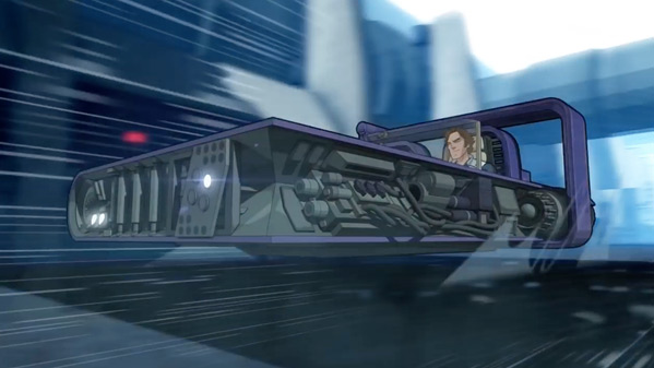 Han Solo Anime Movie