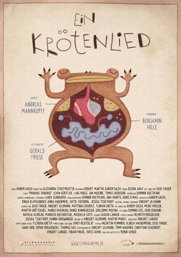 Song of a Toad - Ein Krötenlied Poster