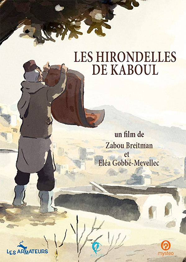 The Swallows of Kabul - Les hirondelles de Kaboul Poster