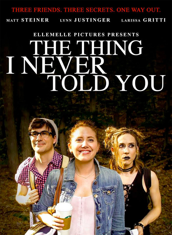 The Thing I Never Told You Poster