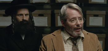 Matthew Broderick & Géza Röhrig in Official Trailer for 'To Dust' Film