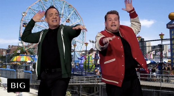 Tom Hanks & James Corden
