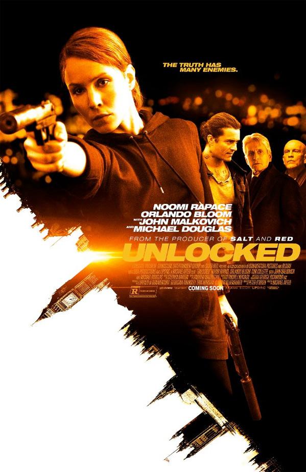 Unlocked US Poster