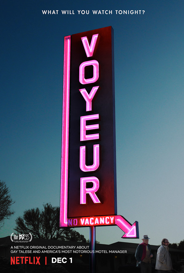 Official Trailer for Netflix Documentary Voyeur About a