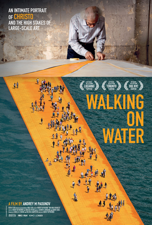 Walking on Water Poster