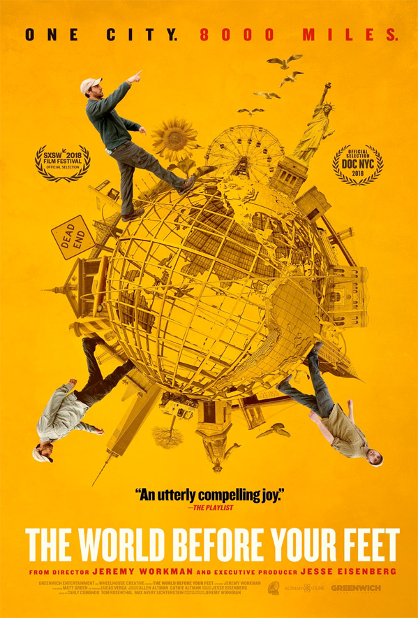 The World Before Your Feet Doc Poster