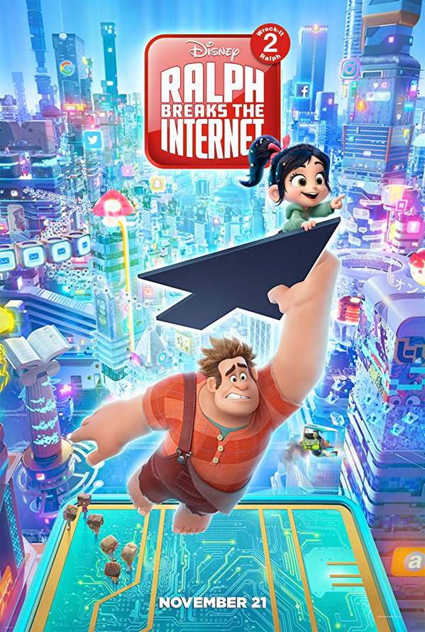 Ralph Breaks the Internet: Wreck-It Ralph 2 Poster