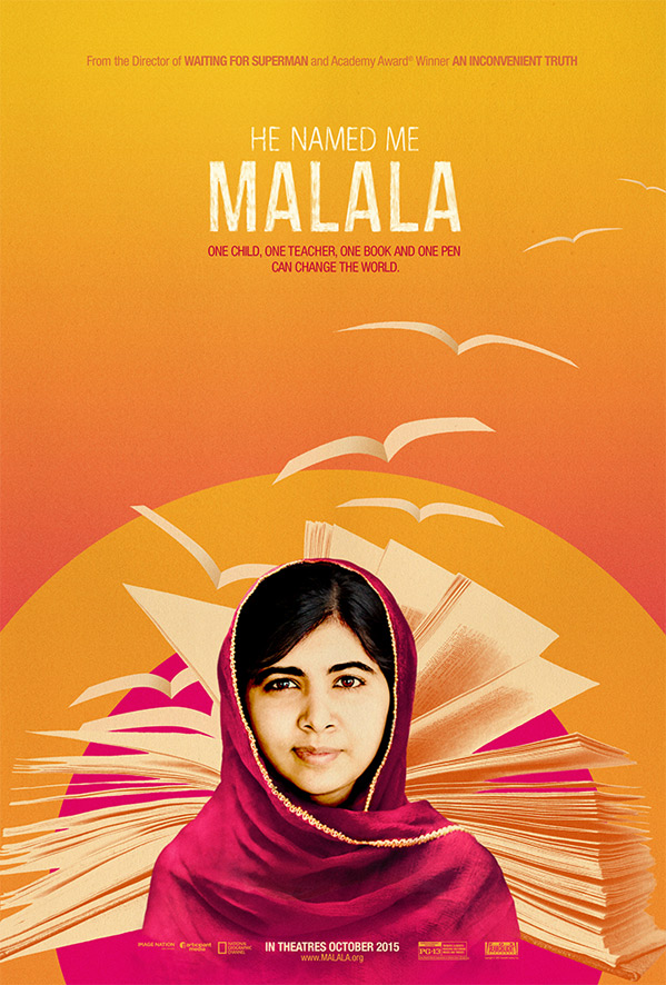 He Named Me Malala Documentary Poster