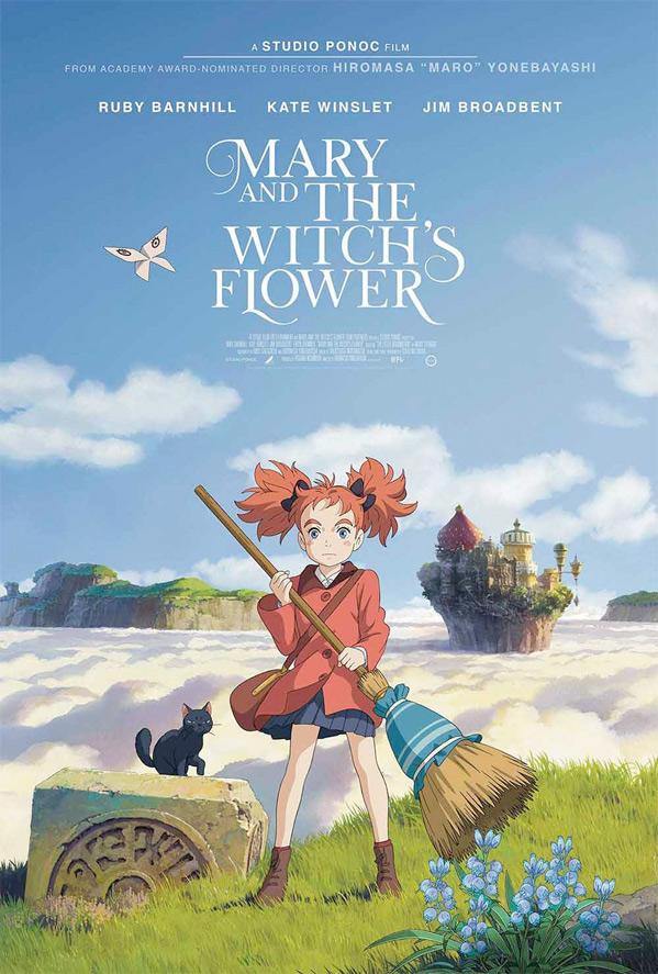 Mary and the Witch's Flower Movie
