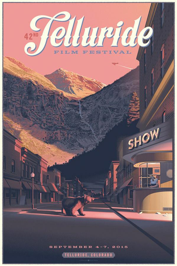 42nd Telluride Film Festival Poster - 2015
