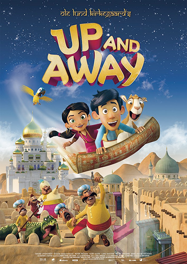 Up and Away Poster