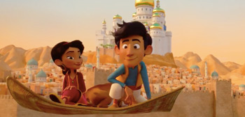 Trailer for Funky, Flying Carpet, Danish Animation Film 'Up and Away'