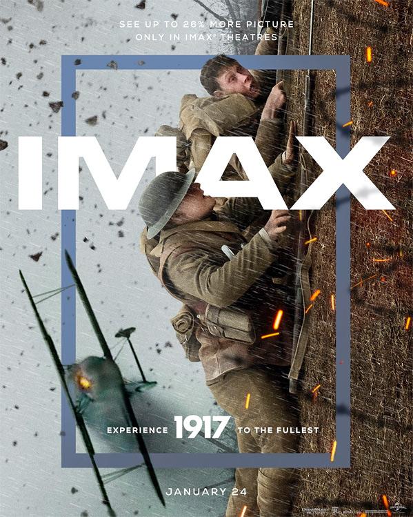 Sam Mendes' 1917 IMAX Poster