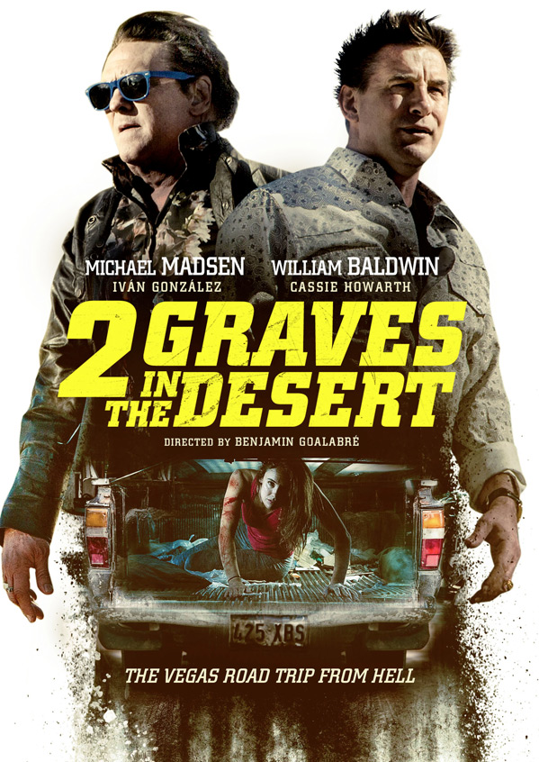 2 Graves in the Desert Poster