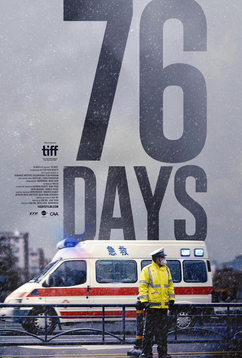 76 Days Poster