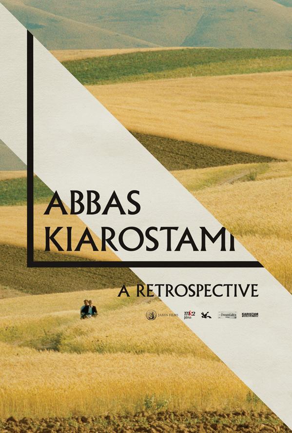 Abbas Kiarostami: A Retrospective Poster