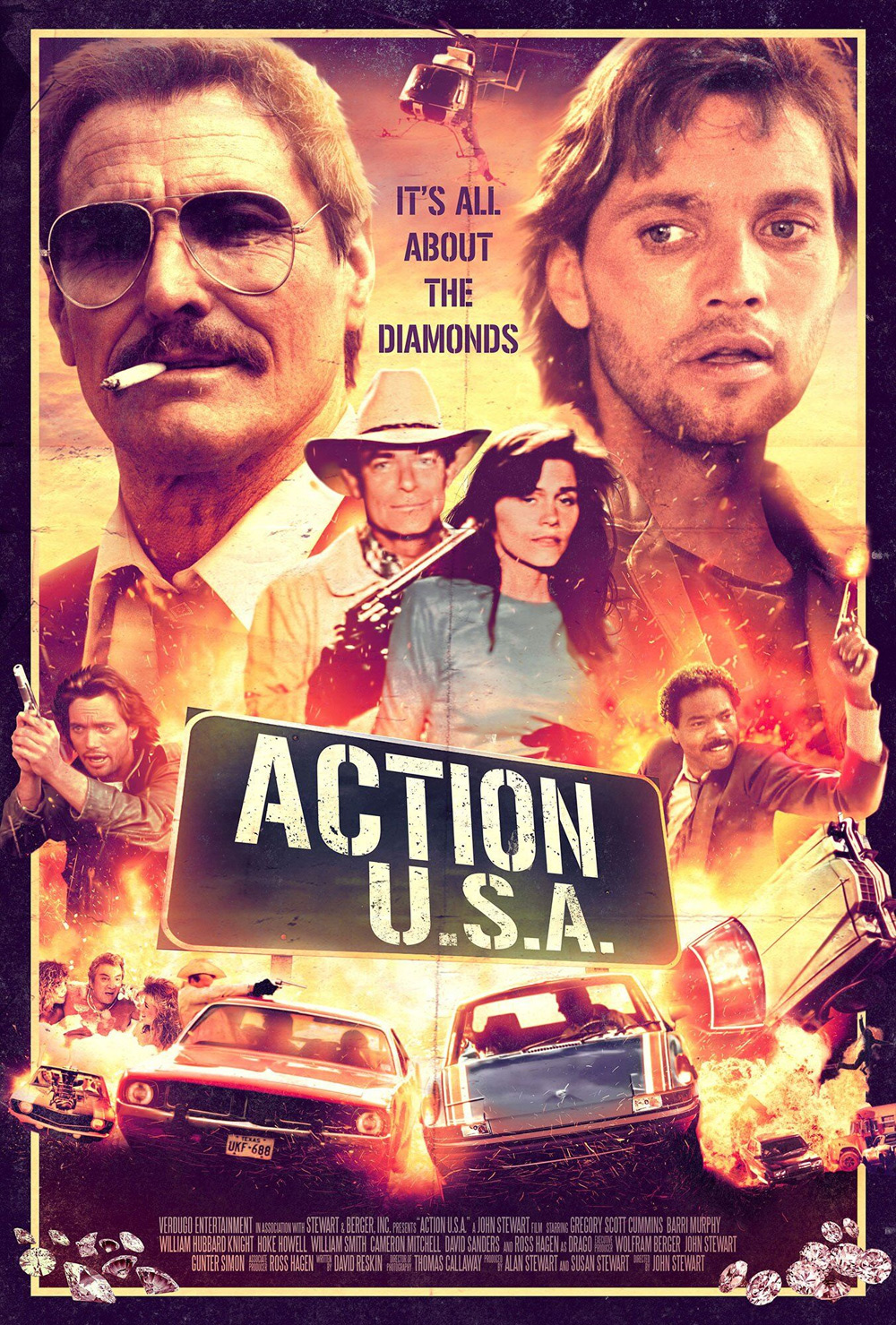 Action U.S.A. Poster