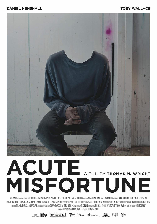 Acute Misfortune Poster
