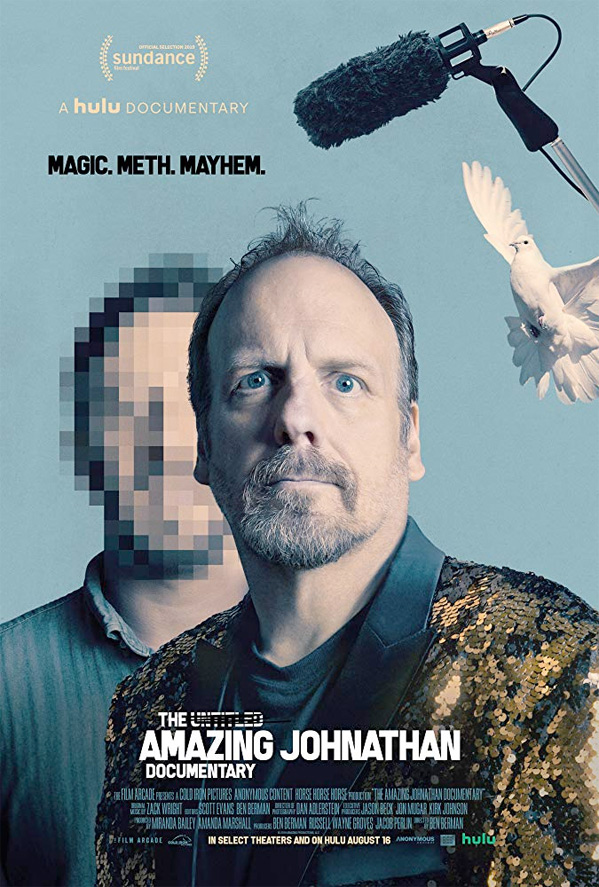 The Amazing Johnathan Documentary Poster