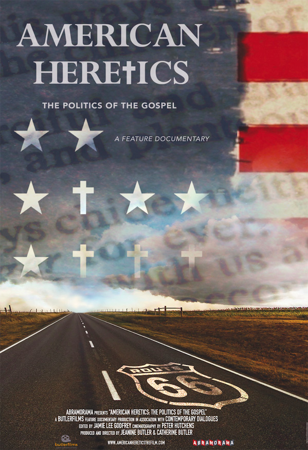 American Heretics: The Politics of the Gospel Poster