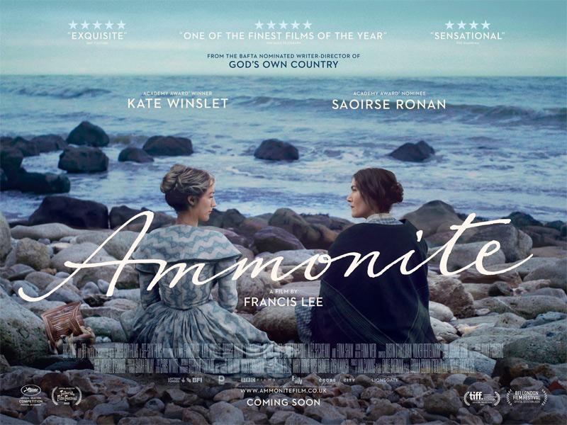 Ammonite Poster UK