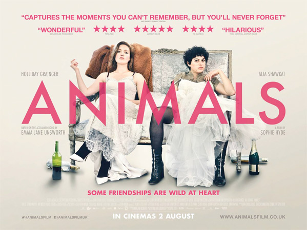 Animals UK Poster