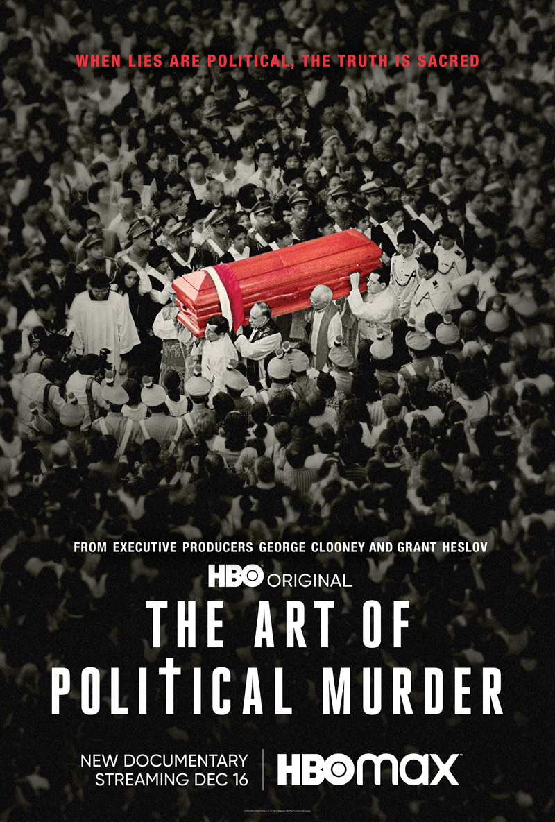 The Art of Political Murder Poster