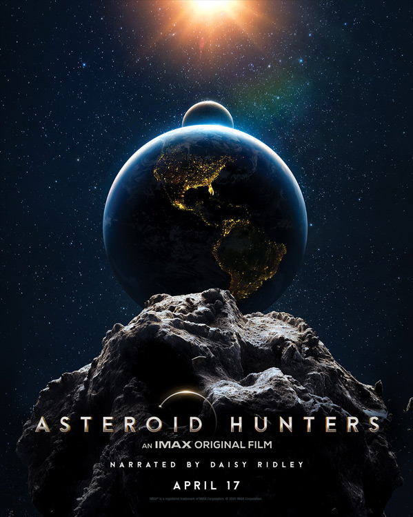 Asteroid Hunters Poster