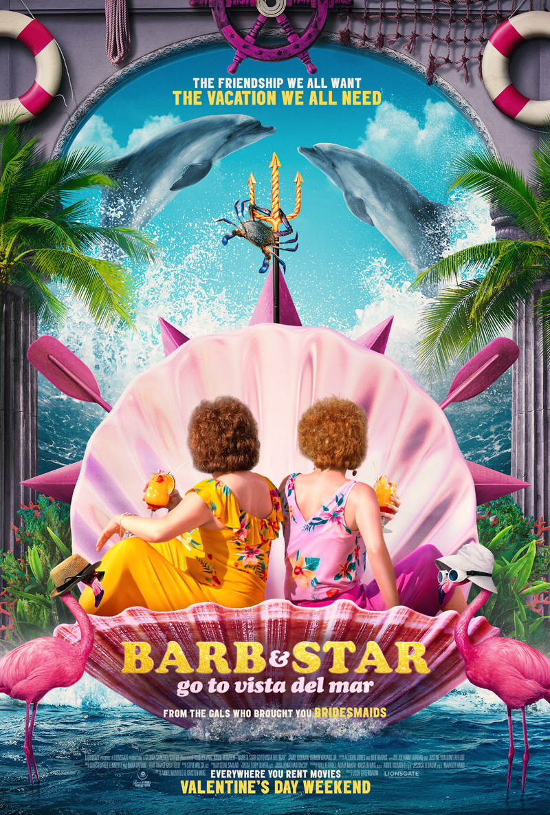 Barb and Star Go to Vista Del Mar Poster