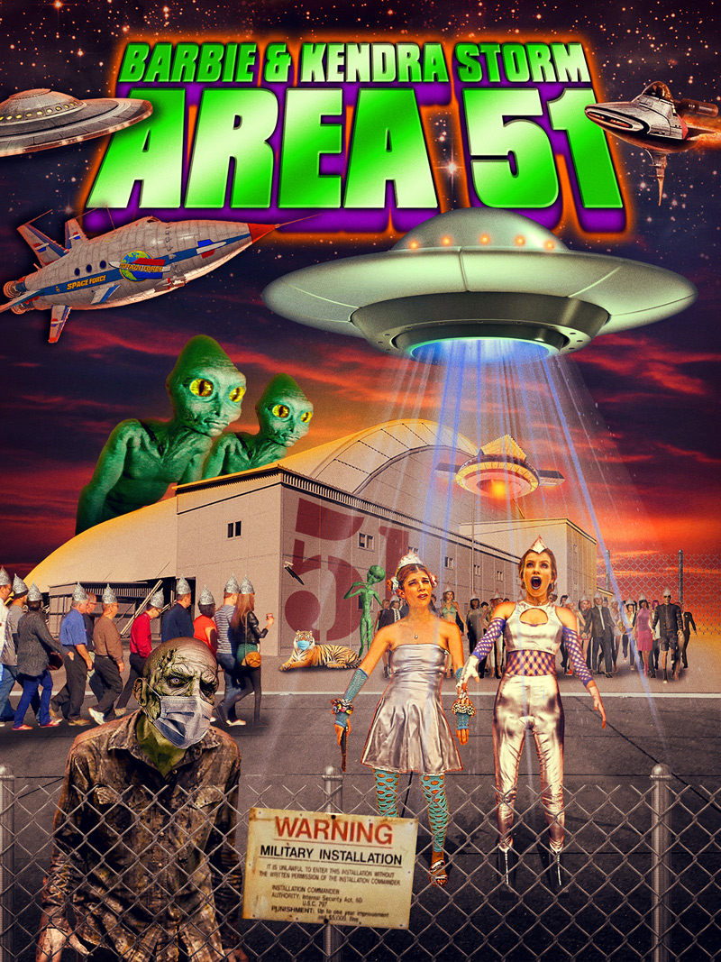 Barbie & Kendra Storm Area 51 Poster