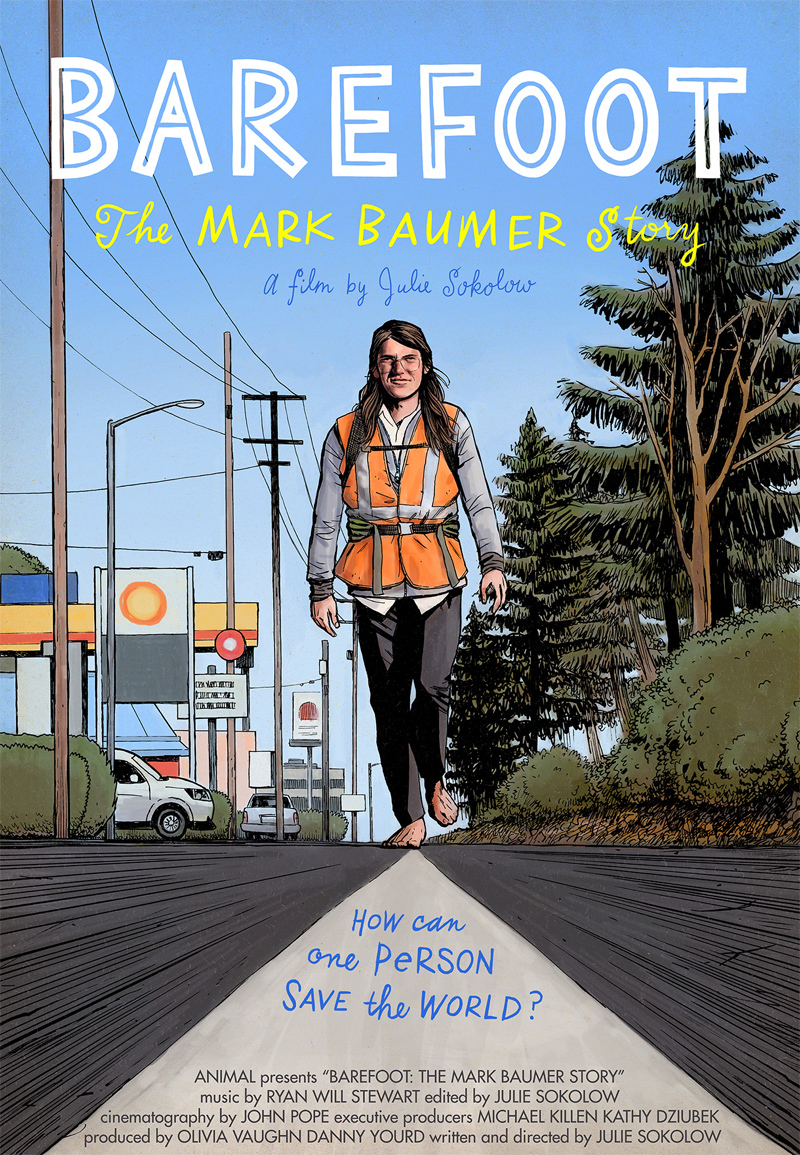 Barefoot: The Mark Baumer Story Poster