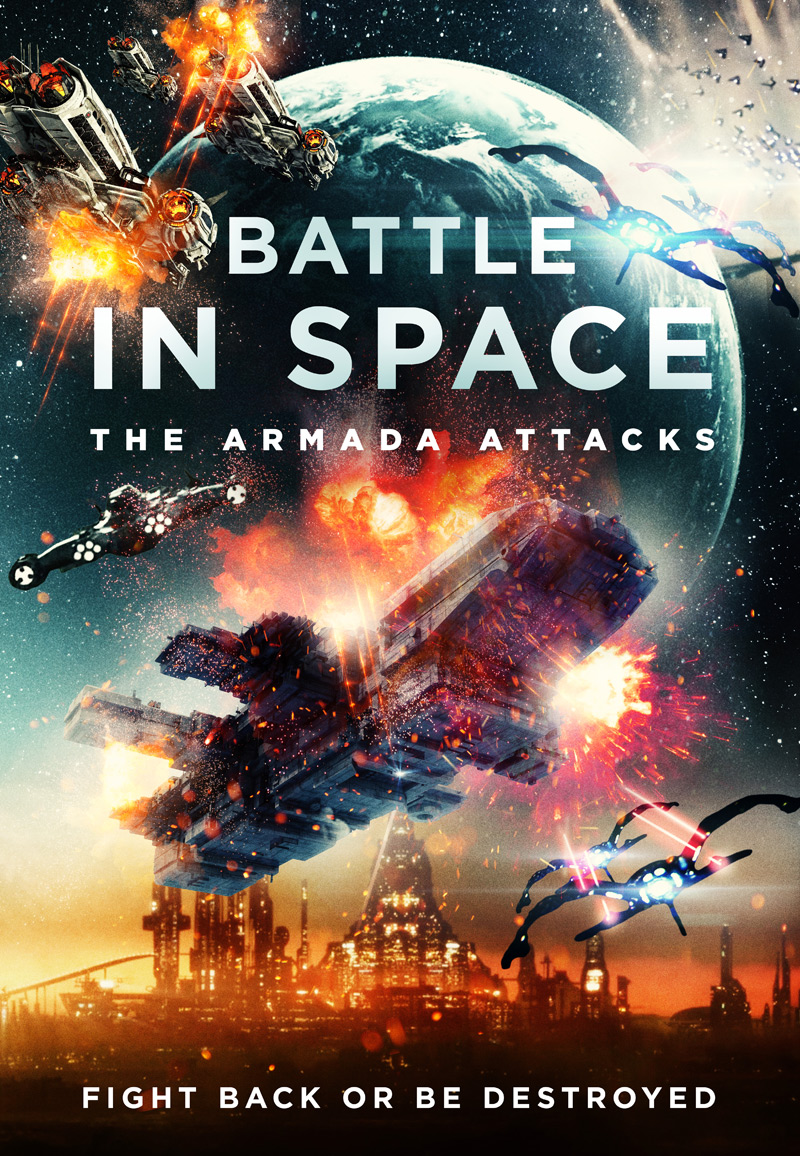 Battle in Space - The Armada Attacks Poster