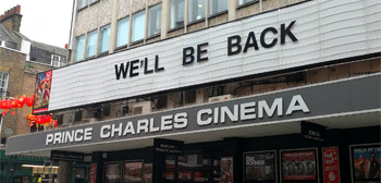 We'll Be Back Cinema