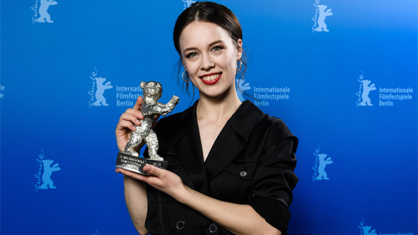 Best Actress winner Paula Beer