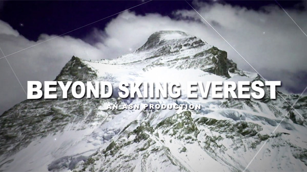Beyond Skiing Everest Poster