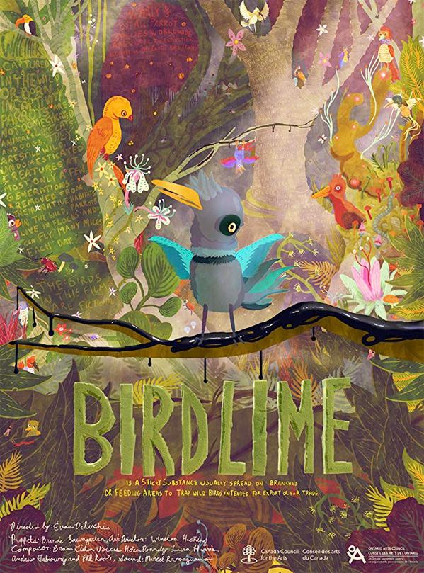 Birdlime Short Film Poster