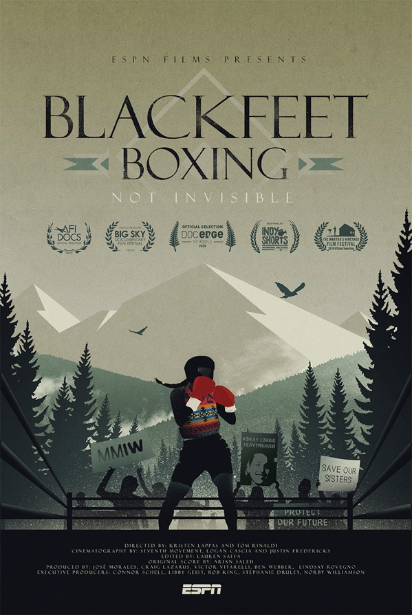 Blackfeet Boxing: Not Invisible Poster