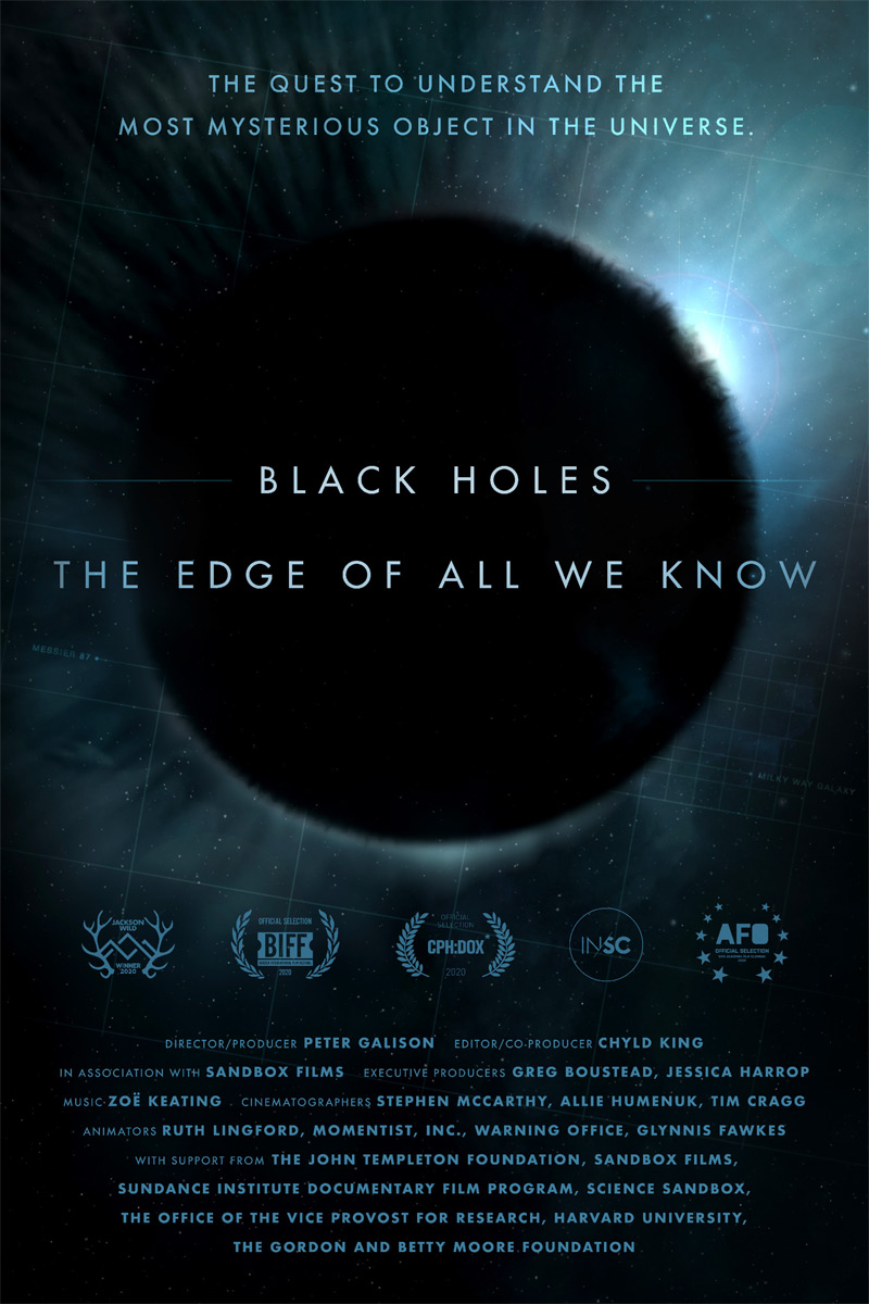 Black Holes: The Edge of All We Know Poster