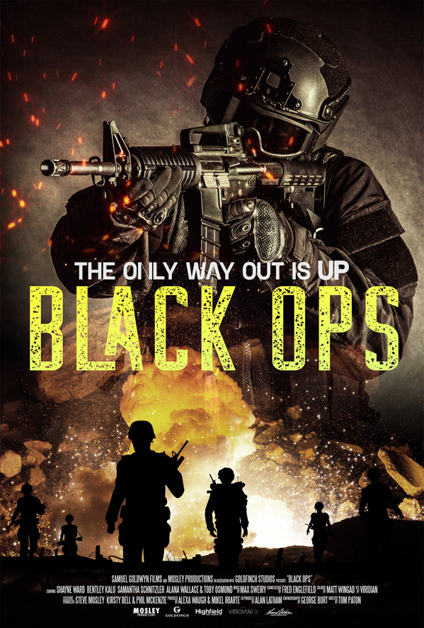 Black Ops Poster