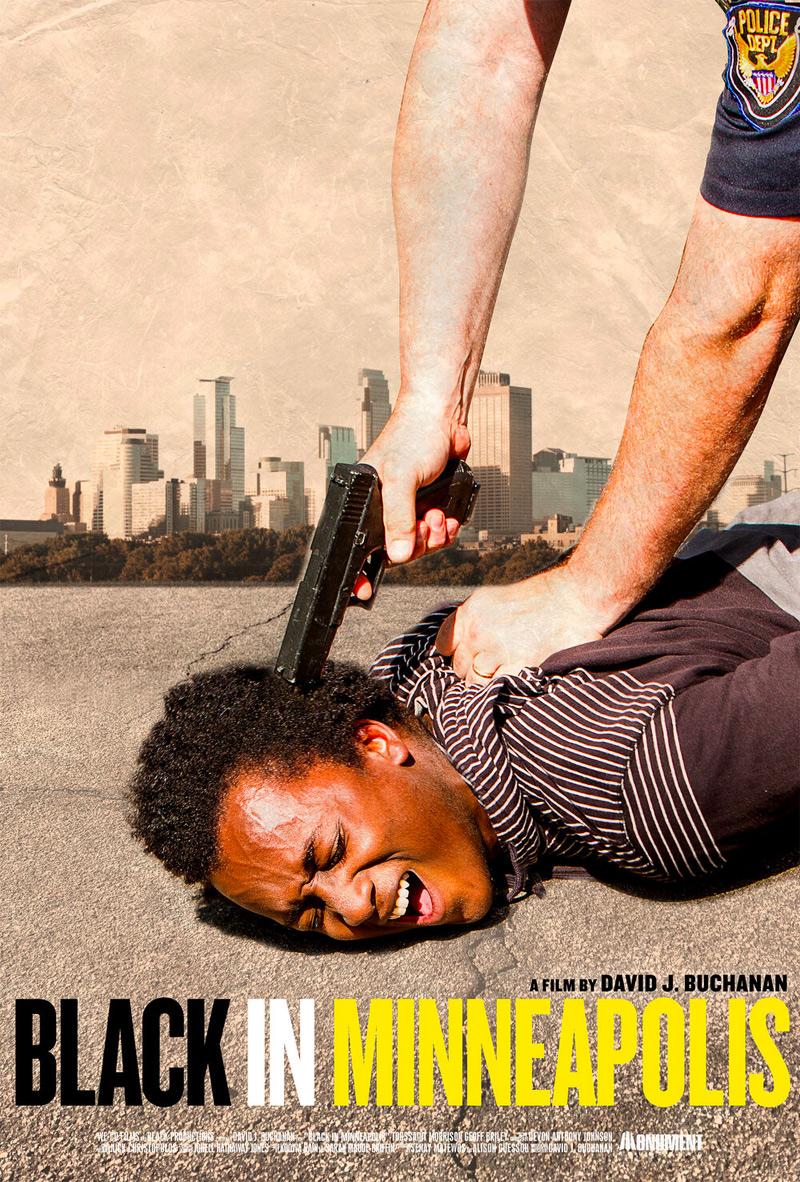 Black in Minneapolis Poster